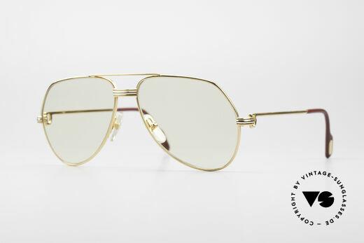 Cartier Vendome LC - S Mit Zeiss Automatik Gläsern Details
