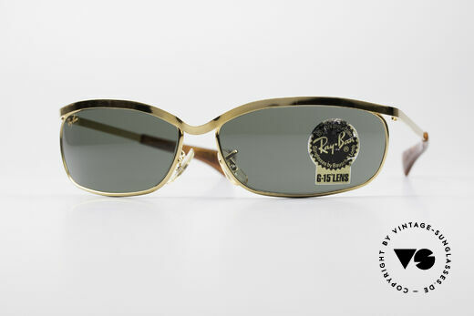Ray Ban Olympian VI Deluxe B&L USA Vintage Brille Details
