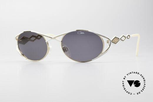 Cazal 977 Designer Sonnenbrille Damen Details