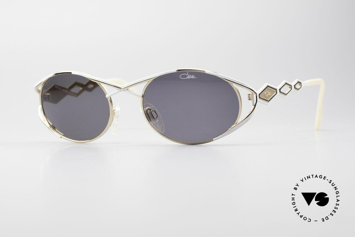 Cazal 977 Designer Sonnenbrille Damen, luxuriöse CAZAL Sonnenbrille aus den 1990ern, Passend für Damen