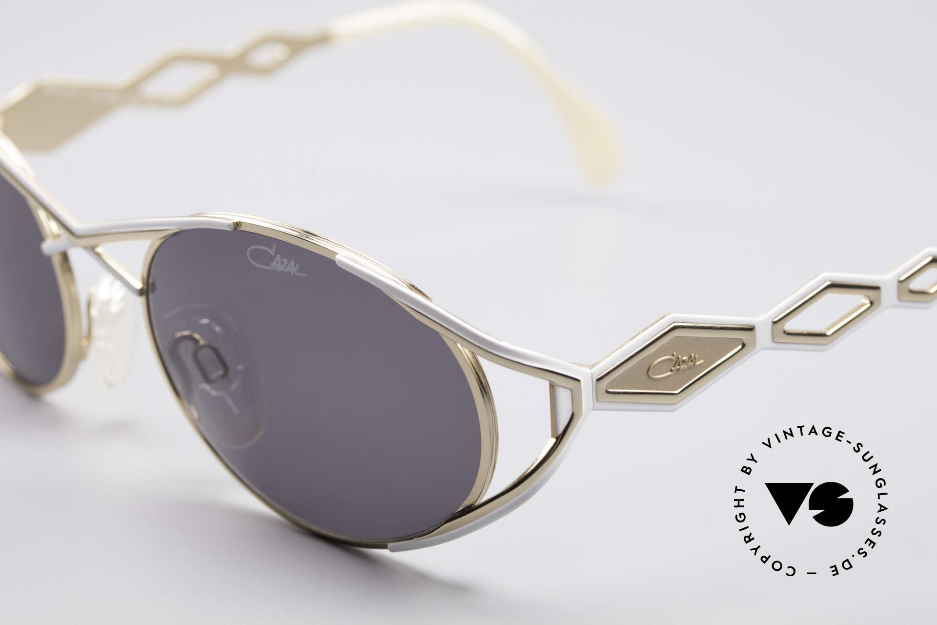 Cazal 977 Designer Sonnenbrille Damen, Top-Qualität und ein Glanz wie frisch vom Werk, Passend für Damen