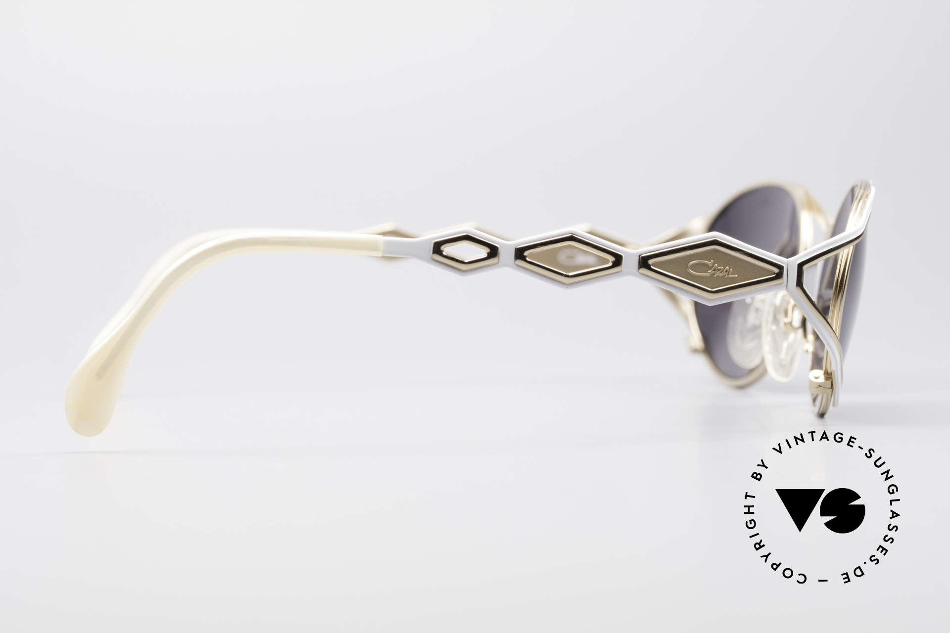 Cazal 977 Designer Sonnenbrille Damen, KEINE Retrobrille; eine echte alte Cazal Rarität!, Passend für Damen