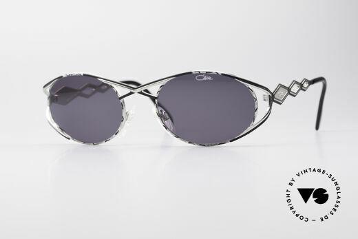 Cazal 977 Vintage Sonnenbrille Damen Details