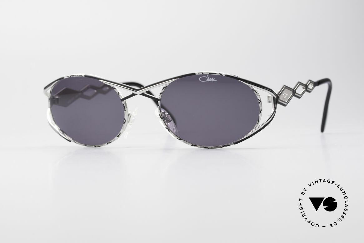Cazal 977 Vintage Sonnenbrille Damen, luxuriöse vintage Cazal Sonnenbrille aus den 90ern, Passend für Damen