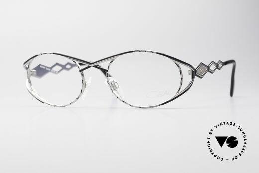 Cazal 977 Vintage Designer Brille Damen Details