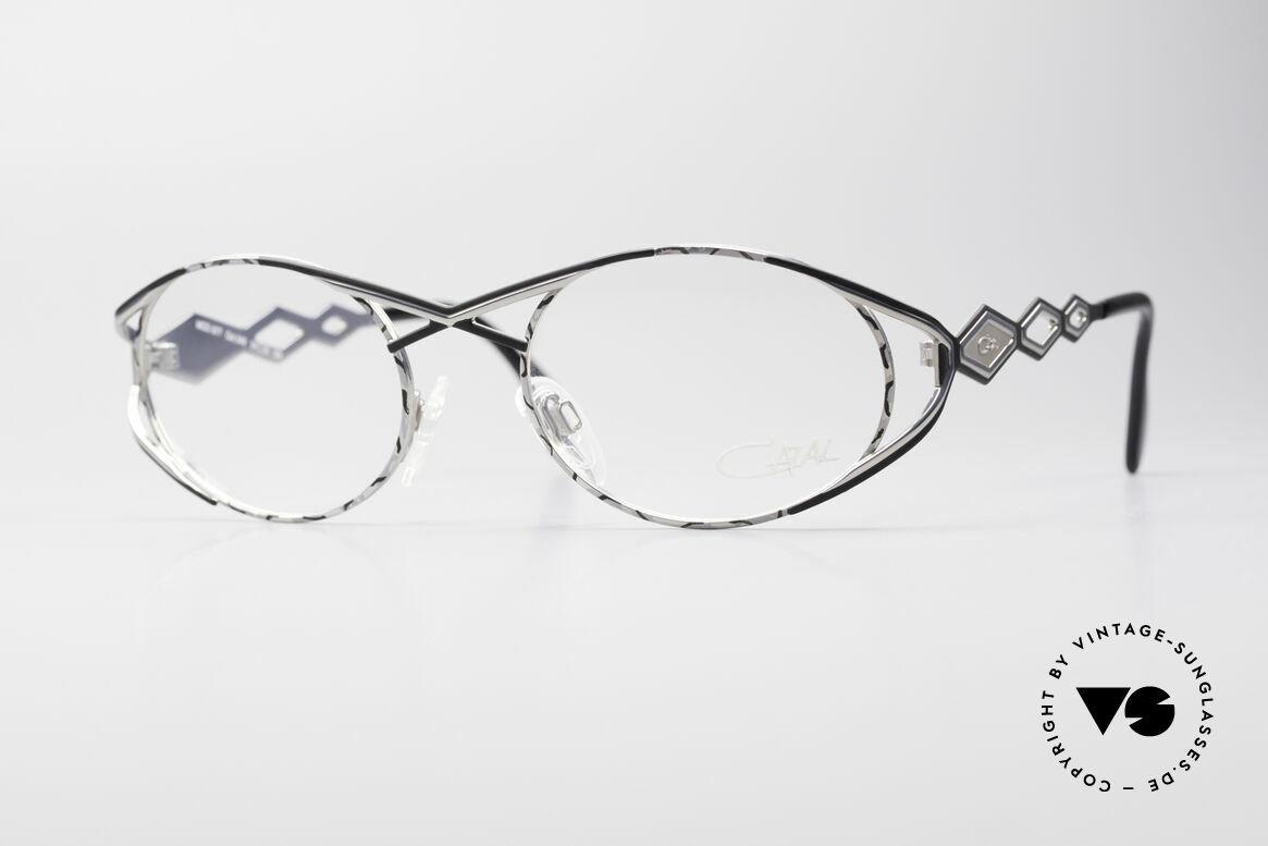 Cazal 977 Vintage Designer Brille Damen, luxuriöse vintage Cazal Brillenfassung aus den 90ern, Passend für Damen