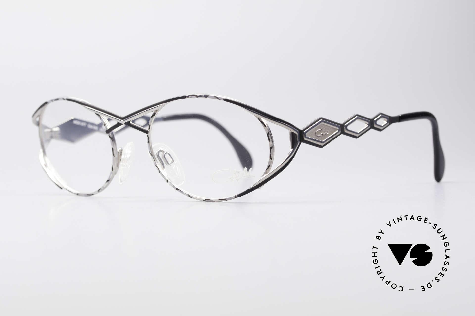 Cazal 977 Vintage Designer Brille Damen, sehr glamouröse Design-Elemente; schwungvoll chic, Passend für Damen