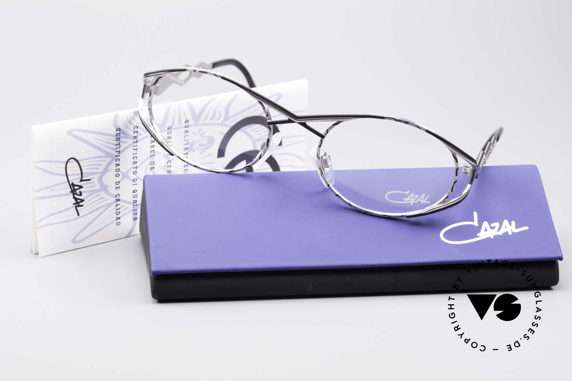 Cazal 977 Vintage Designer Brille Damen, die Fassung ist natürlich für optische Gläser geeignet, Passend für Damen