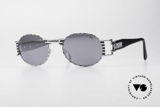 Cazal 976 Vintage Brille Oval Verspiegelt Details
