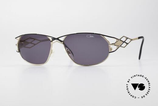 Cazal 981 Vintage Designer Damen Brille Details
