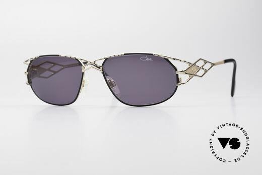 Cazal 981 Damen Designer Vintage Brille Details