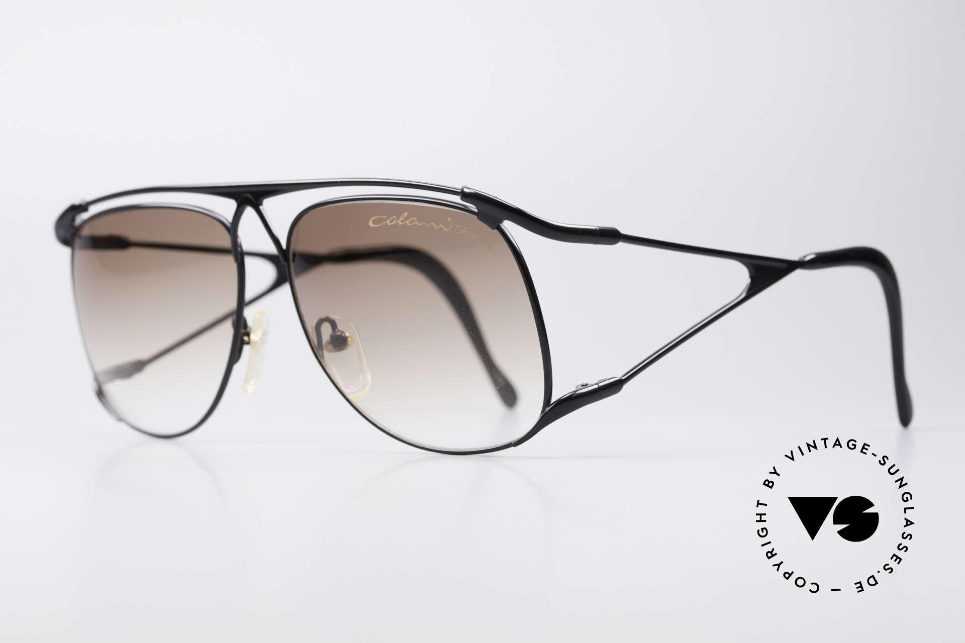 Colani 15-501 Rare 80er Vintage SonnenBrille, spektakuläre Form & Bügel: unverwechselbar Colani, Passend für Herren