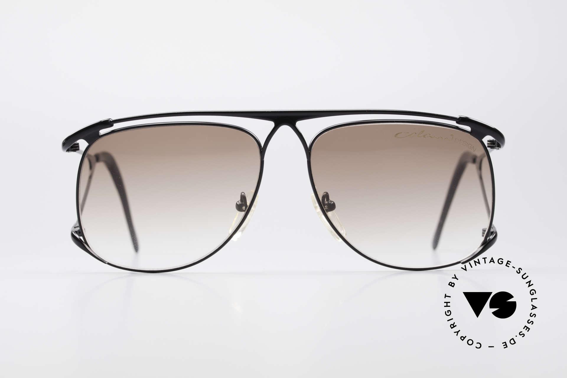 Colani 15-501 Rare 80er Vintage SonnenBrille, stabiler Metall-Rahmen in absoluter Spitzen-Qualität, Passend für Herren
