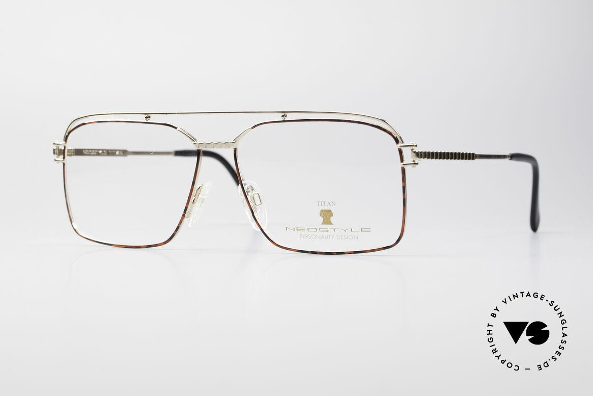 Neostyle Dynasty 424 - XL 80er Titan Herrenfassung, sehr markante Neostyle Herrenbrille in Gr. XL, Passend für Herren