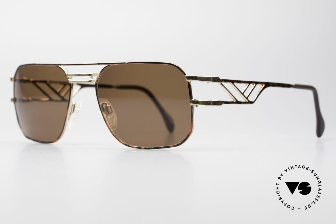 Neostyle Boutique 306 1980er Herren Sonnenbrille, Fertigung wie aus einem Stück / einem Guss, Passend für Herren