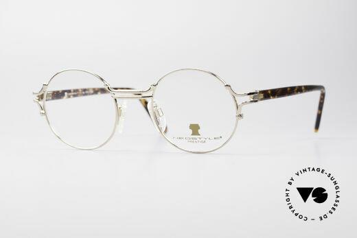 Neostyle Academic 8 Runde Vintage 80er Brille Details