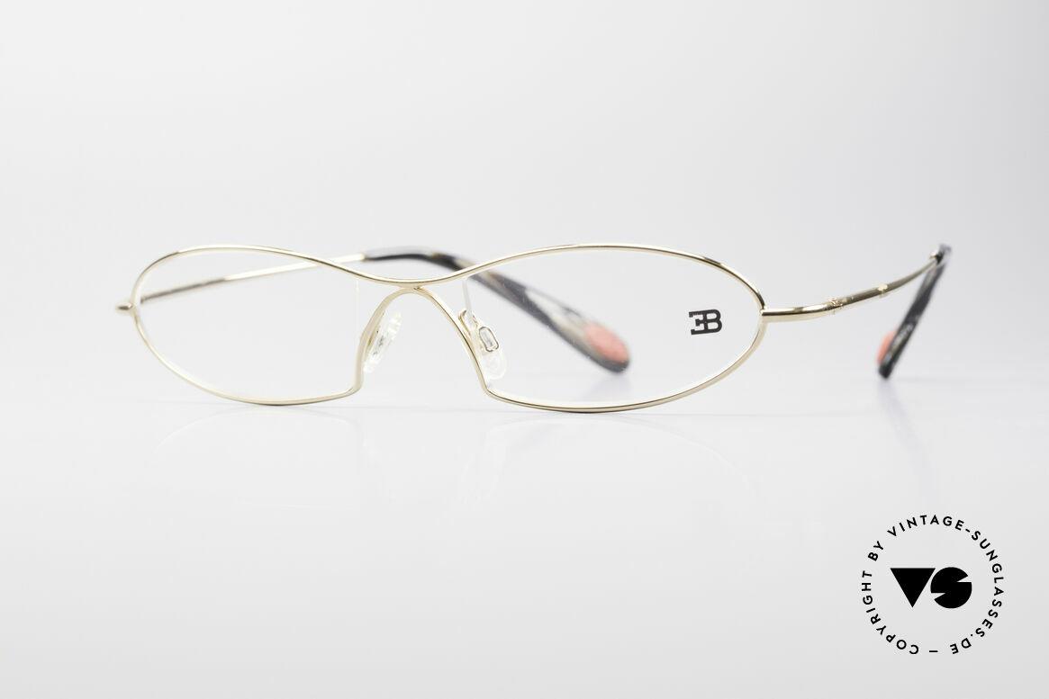 Bugatti 343 Odotype Herren Vintage Designer Brille