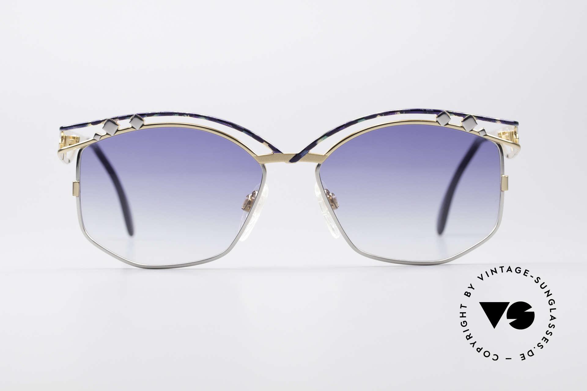 Cazal 280 Vintage Damen Sonnenbrille, unverwechelbare CAri ZALloni (CAZAL) Creation, Passend für Damen