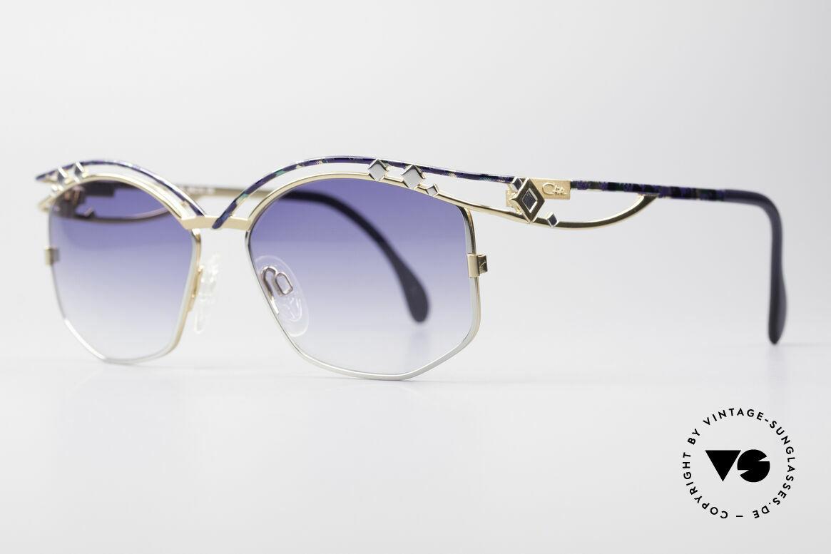 Cazal 280 Vintage Damen Sonnenbrille, enorm aufwendig produziertes DESIGNER-Stück!, Passend für Damen