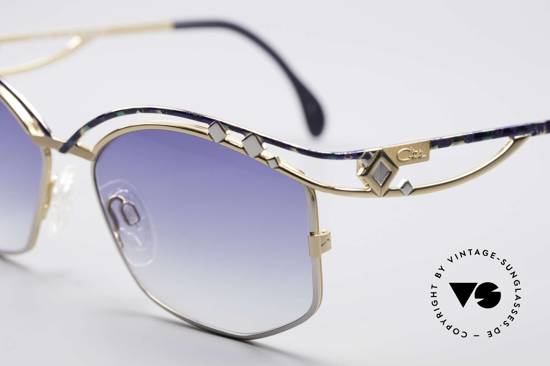 Cazal 280 Vintage Damen Sonnenbrille, ein wahrer Hingucker in herausragender Qualität, Passend für Damen