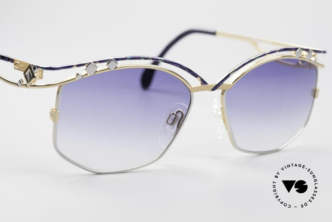 Cazal 280 Vintage Damen Sonnenbrille, ungetragen (wie alle unsere vintage Cazal Brillen), Passend für Damen