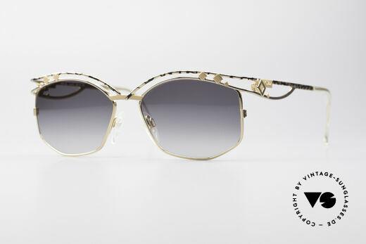 Cazal 280 Rare 90er Damen Sonnenbrille Details