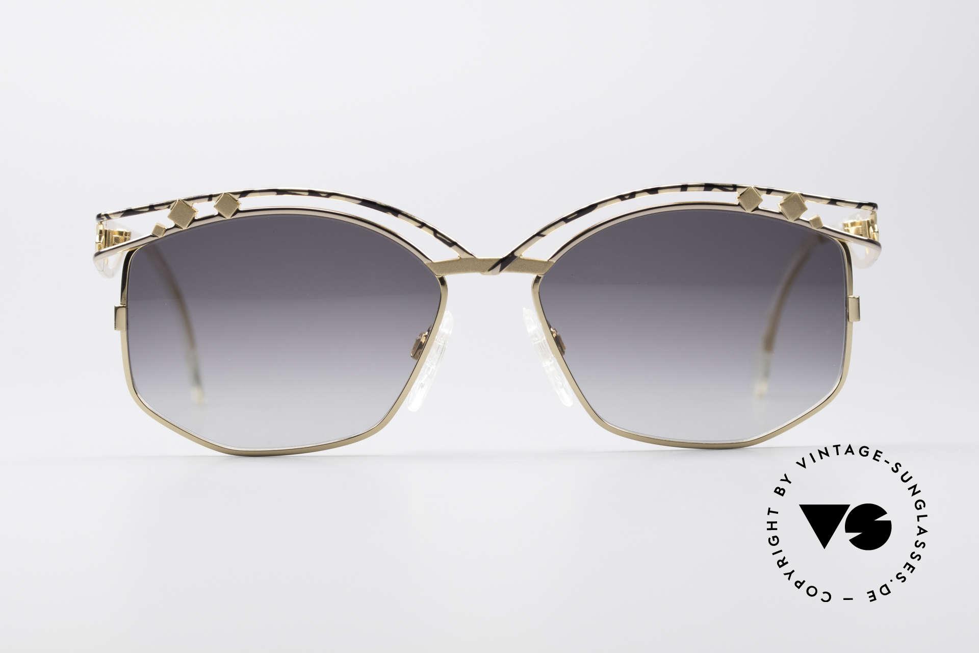 Cazal 280 Rare 90er Damen Sonnenbrille, unverwechelbare CAri ZALloni (CAZAL) Creation, Passend für Damen