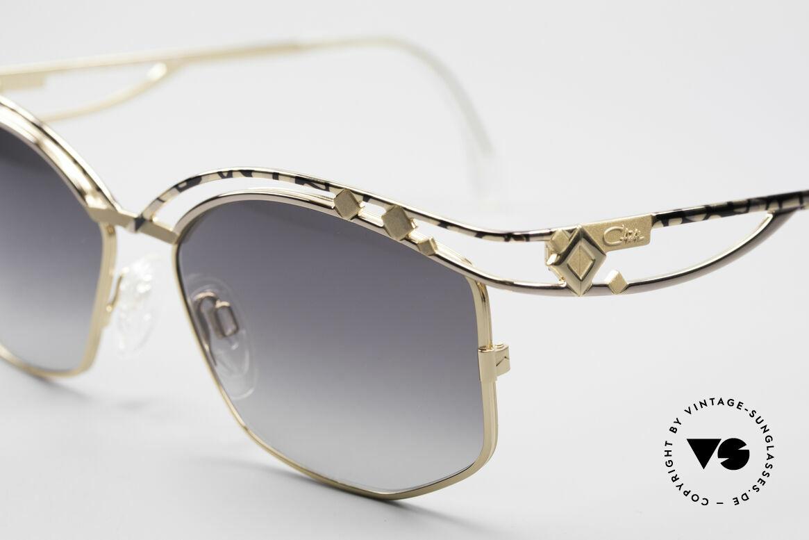 Cazal 280 Rare 90er Damen Sonnenbrille, ein wahrer Hingucker in herausragender Qualität, Passend für Damen