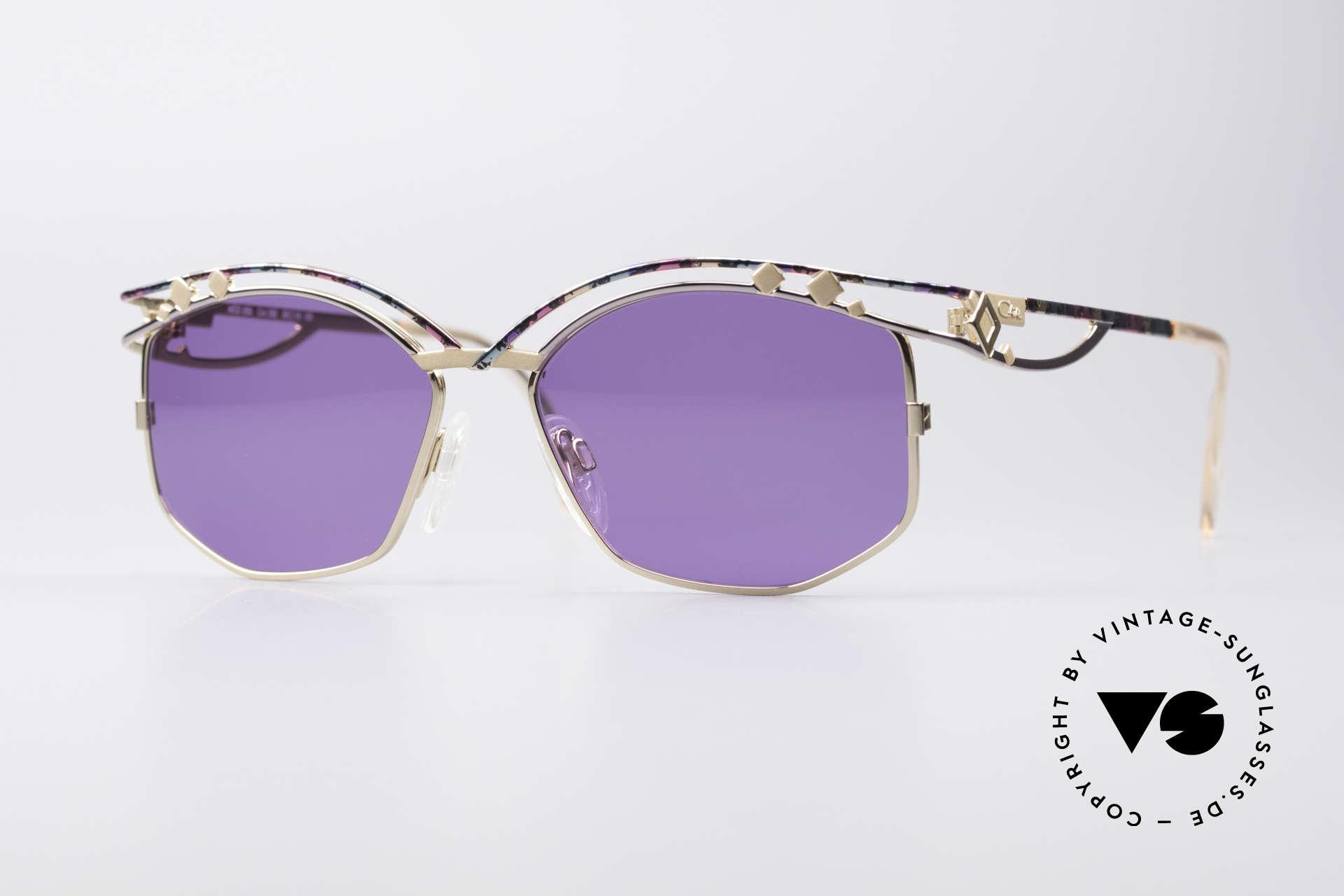 Cazal 280 Designer Sonnenbrille Damen, echte Cazal vintage Designer-Brille von ca. 1997, Passend für Damen
