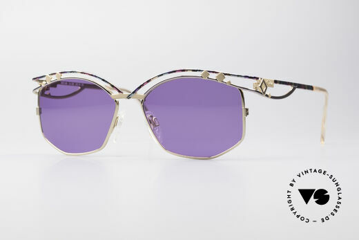 Cazal 280 Designer Sonnenbrille Damen Details