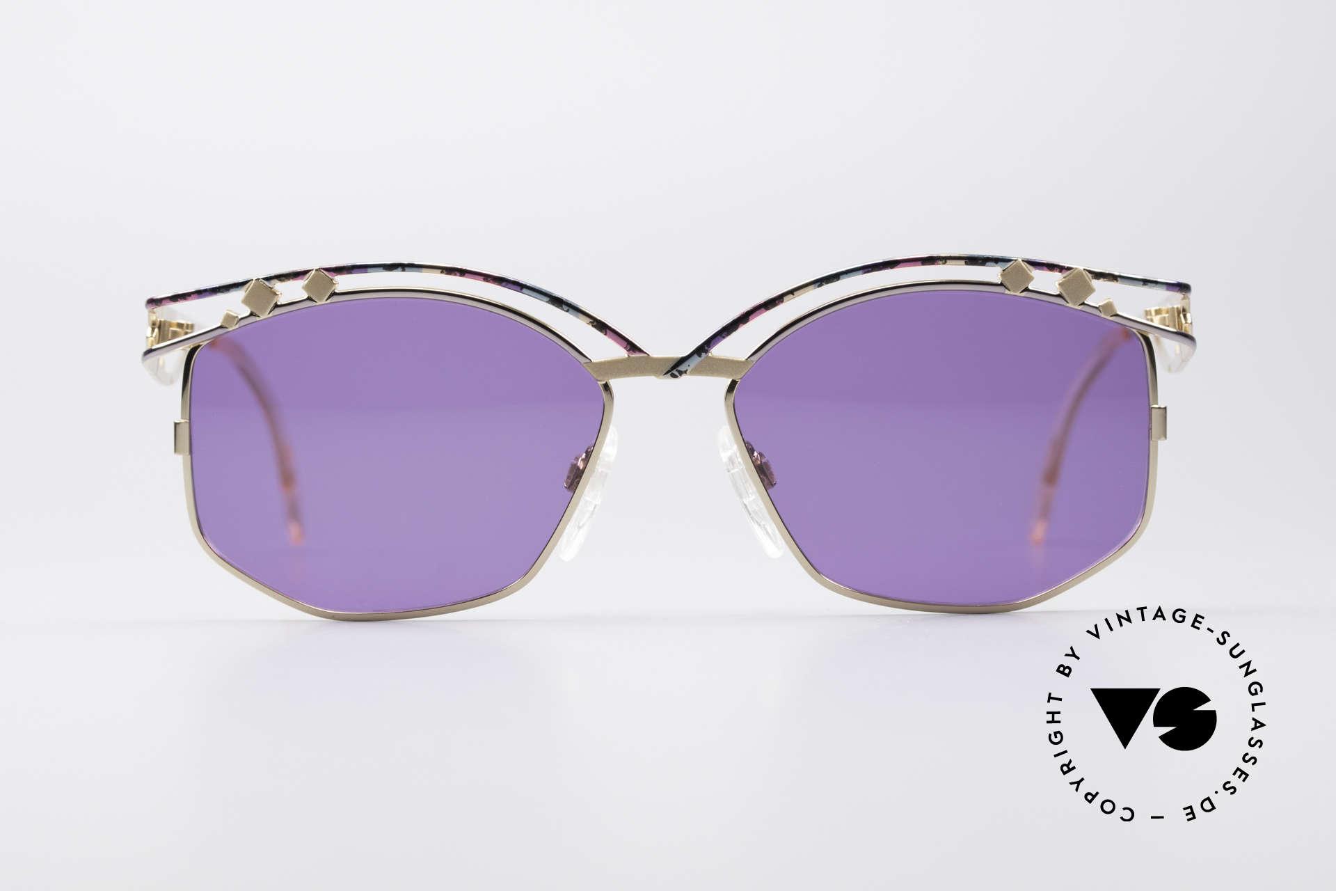 Cazal 280 Designer Sonnenbrille Damen, unverwechelbare CAri ZALloni (CAZAL) Creation, Passend für Damen