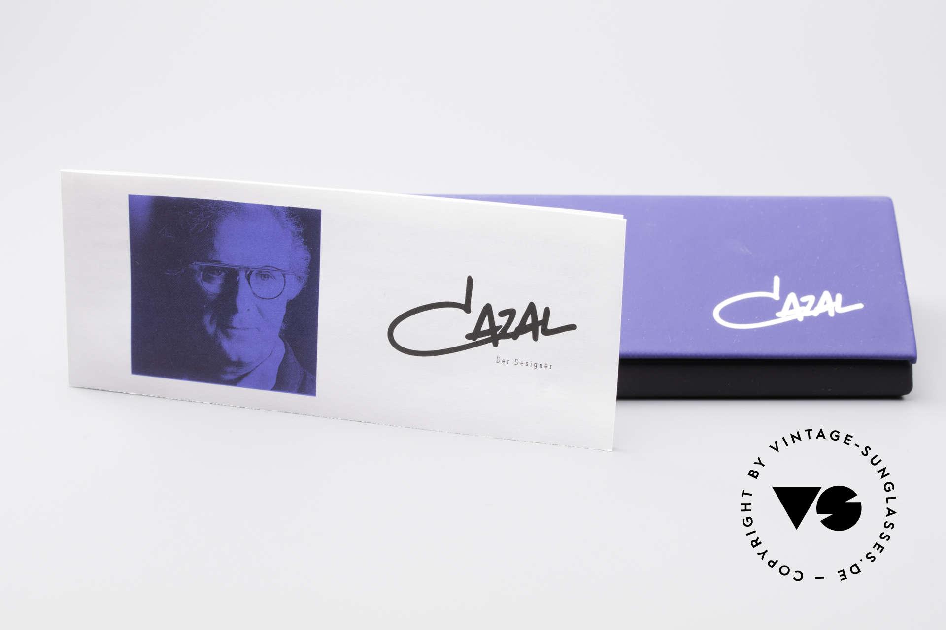 Cazal 280 Designer Sonnenbrille Damen, lila 100% UV Sonnengläser; genial durchzugucken, Passend für Damen