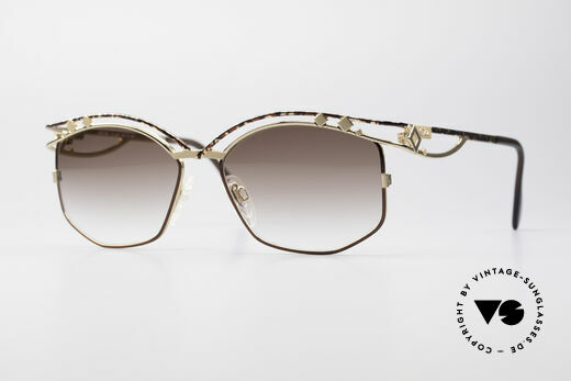 Cazal 280 Designer Damen Sonnenbrille Details