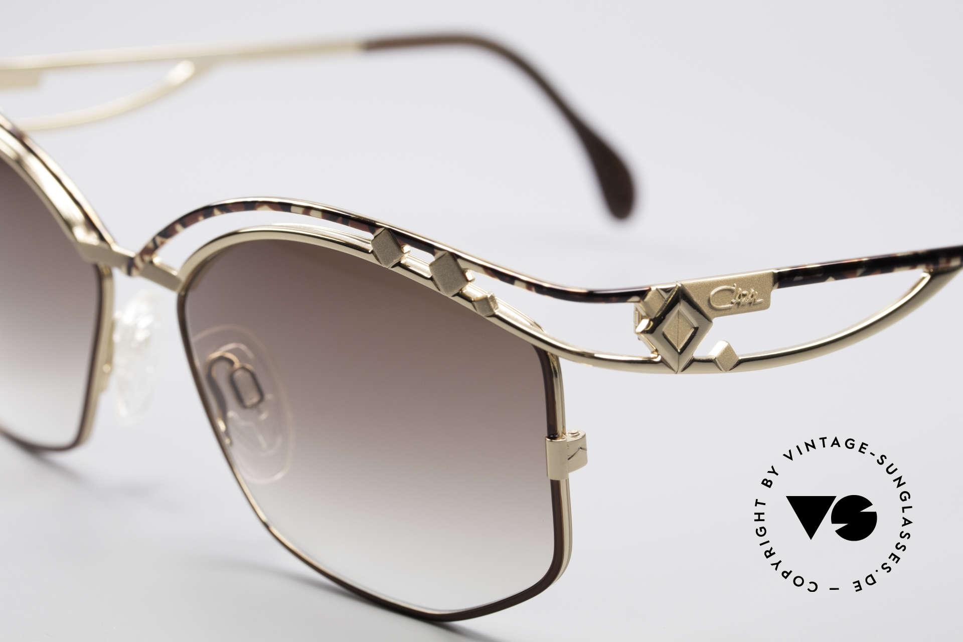 Cazal 280 Designer Damen Sonnenbrille, ein wahrer Hingucker in herausragender Qualität, Passend für Damen