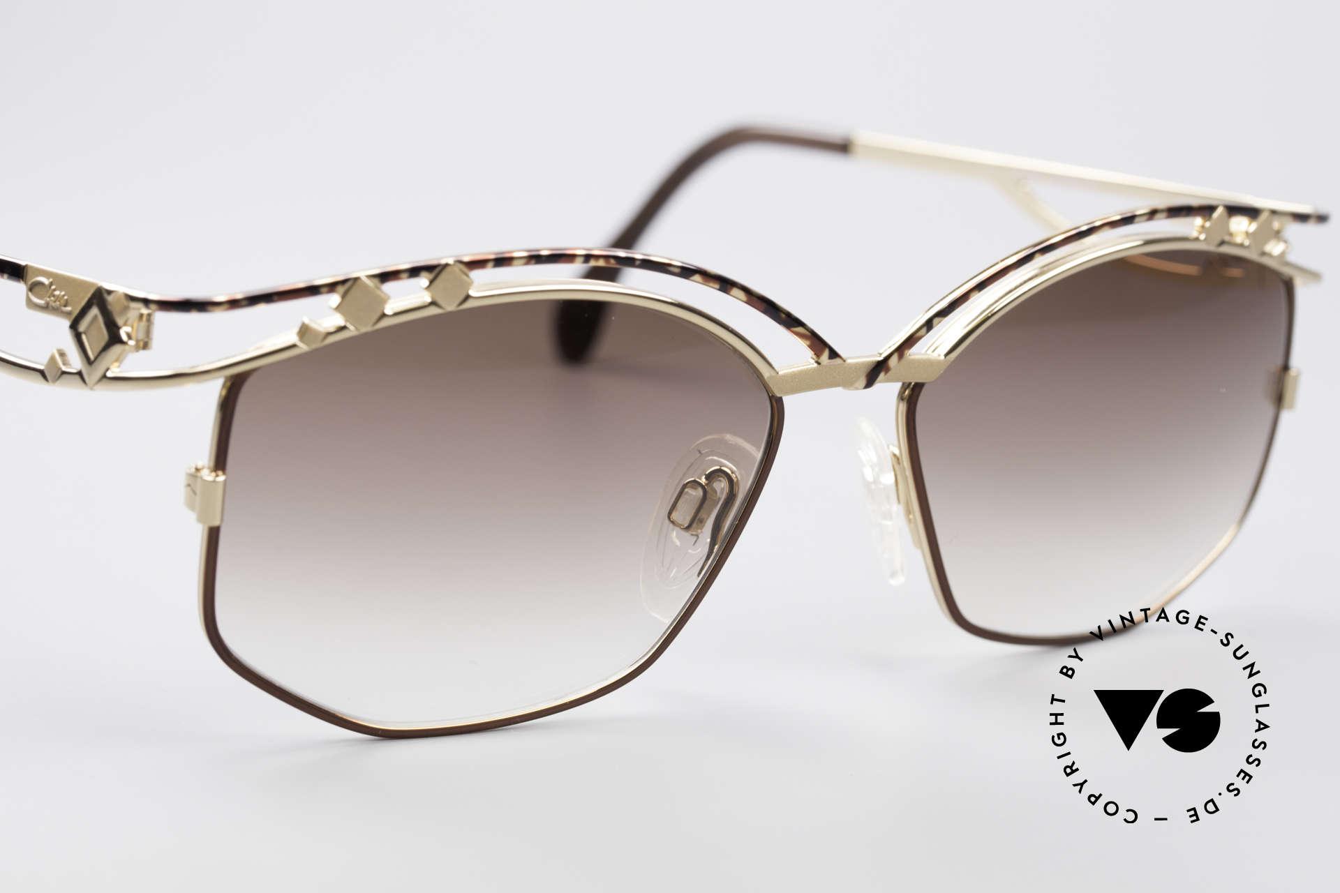 Cazal 280 Designer Damen Sonnenbrille, ungetragen (wie alle unsere vintage Cazal Brillen), Passend für Damen