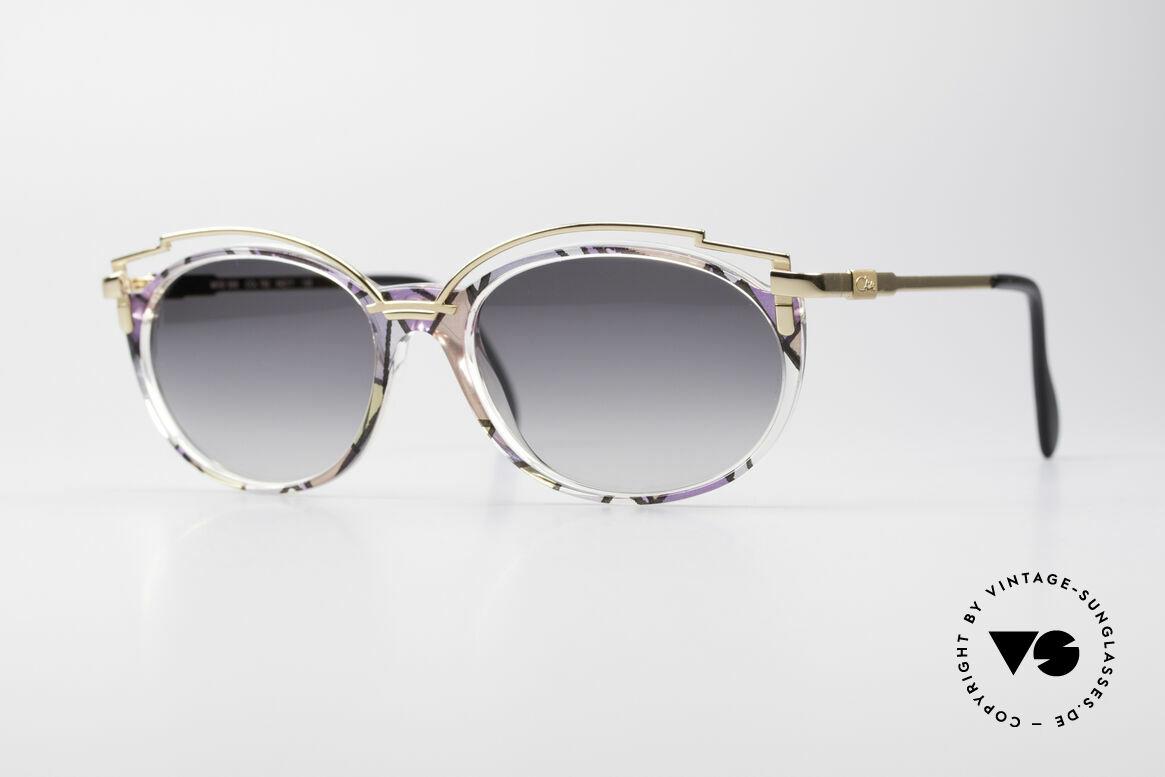 Cazal 358 90er Creation Cazal Brille, zauberhafte 90er vintage Cazal Designer-Sonnenbrille, Passend für Damen