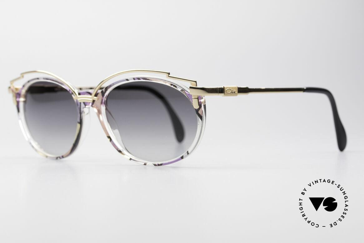 Cazal 358 90er Creation Cazal Brille, mit Sonnengläsern wirkt das Design noch spektakulärer, Passend für Damen