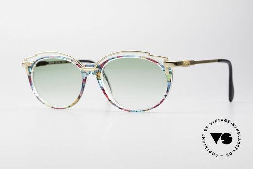 Cazal 358 No Retro Echte Vintage Brille Details