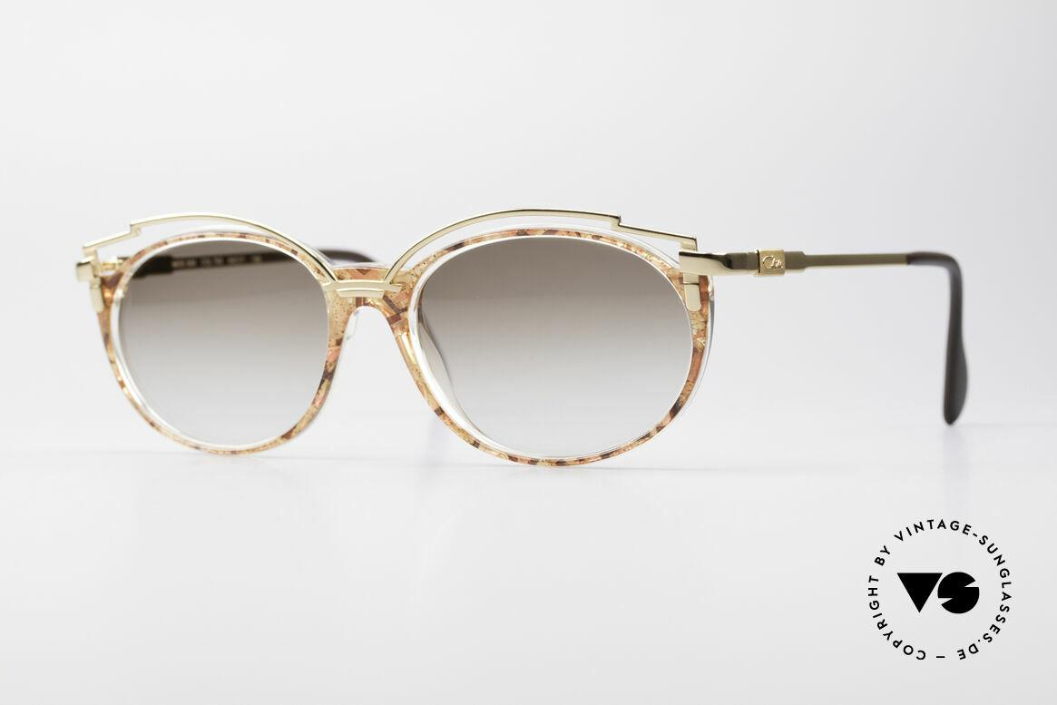 Cazal 358 90er Damen Sonnenbrille Vintage, zauberhafte 90er vintage Cazal Designer-Sonnenbrille, Passend für Damen