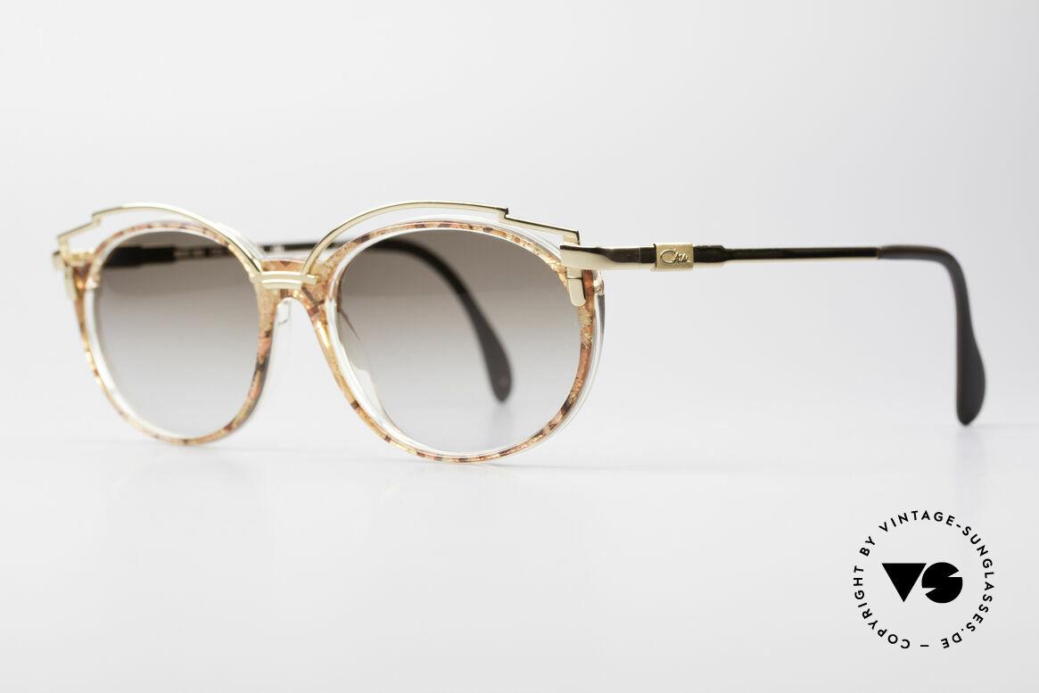 Cazal 358 90er Damen Sonnenbrille Vintage, mit Sonnengläsern wirkt das Design noch spektakulärer, Passend für Damen