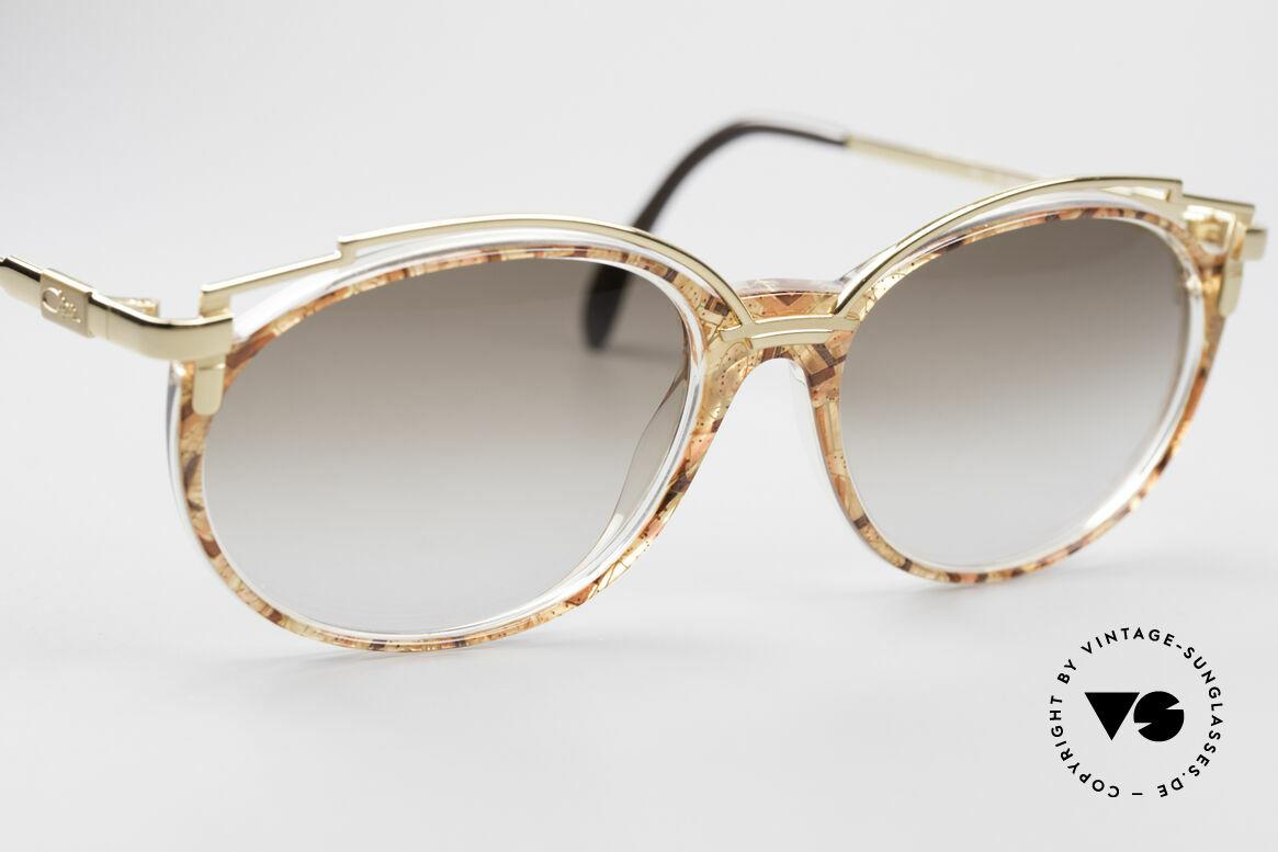 Cazal 358 90er Damen Sonnenbrille Vintage, ungetragen (wie alle unsere VINTAGE Designerbrillen), Passend für Damen
