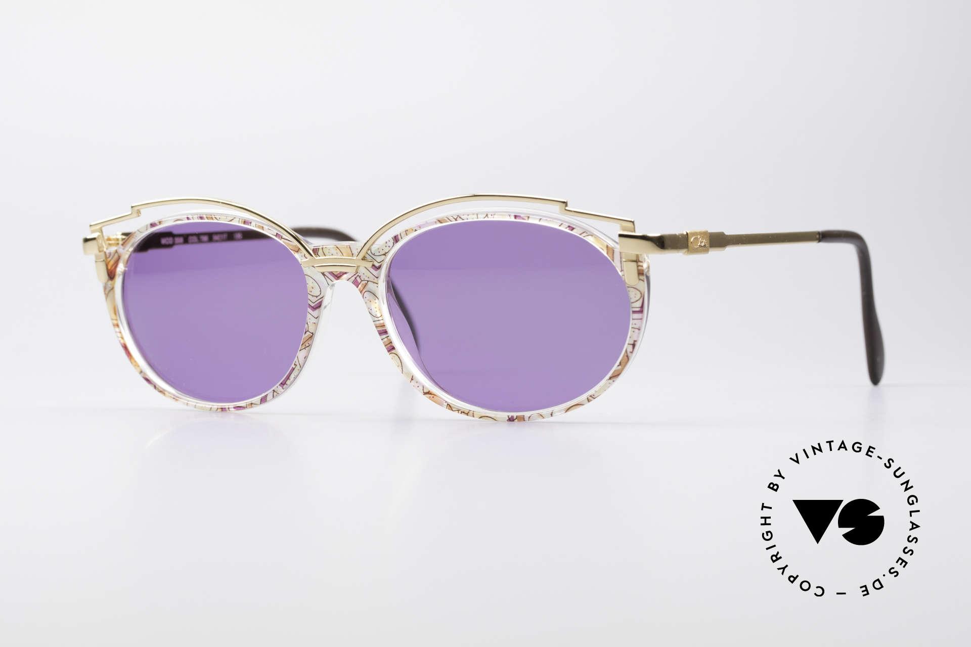 Cazal 358 Rare 90er Vintage Sonnenbrille, zauberhafte 90er vintage Cazal Designer-Sonnenbrille, Passend für Damen