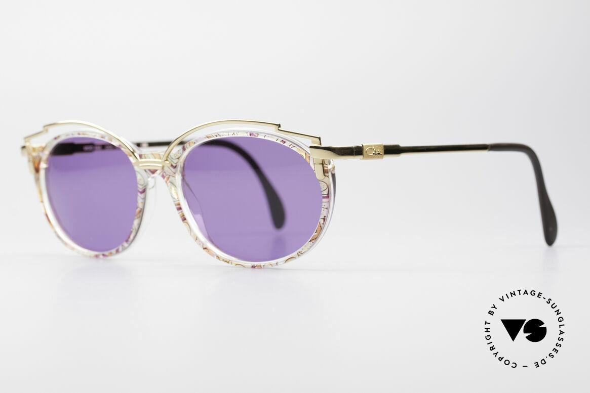 Cazal 358 Rare 90er Vintage Sonnenbrille, mit Sonnengläsern wirkt das Design noch spektakulärer, Passend für Damen