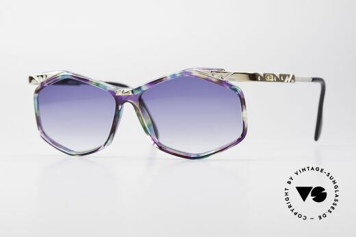 Cazal 354 Vintage Designer Sonnenbrille Details