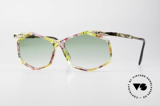 Cazal 354 Vintage Sonnenbrille Damen Details