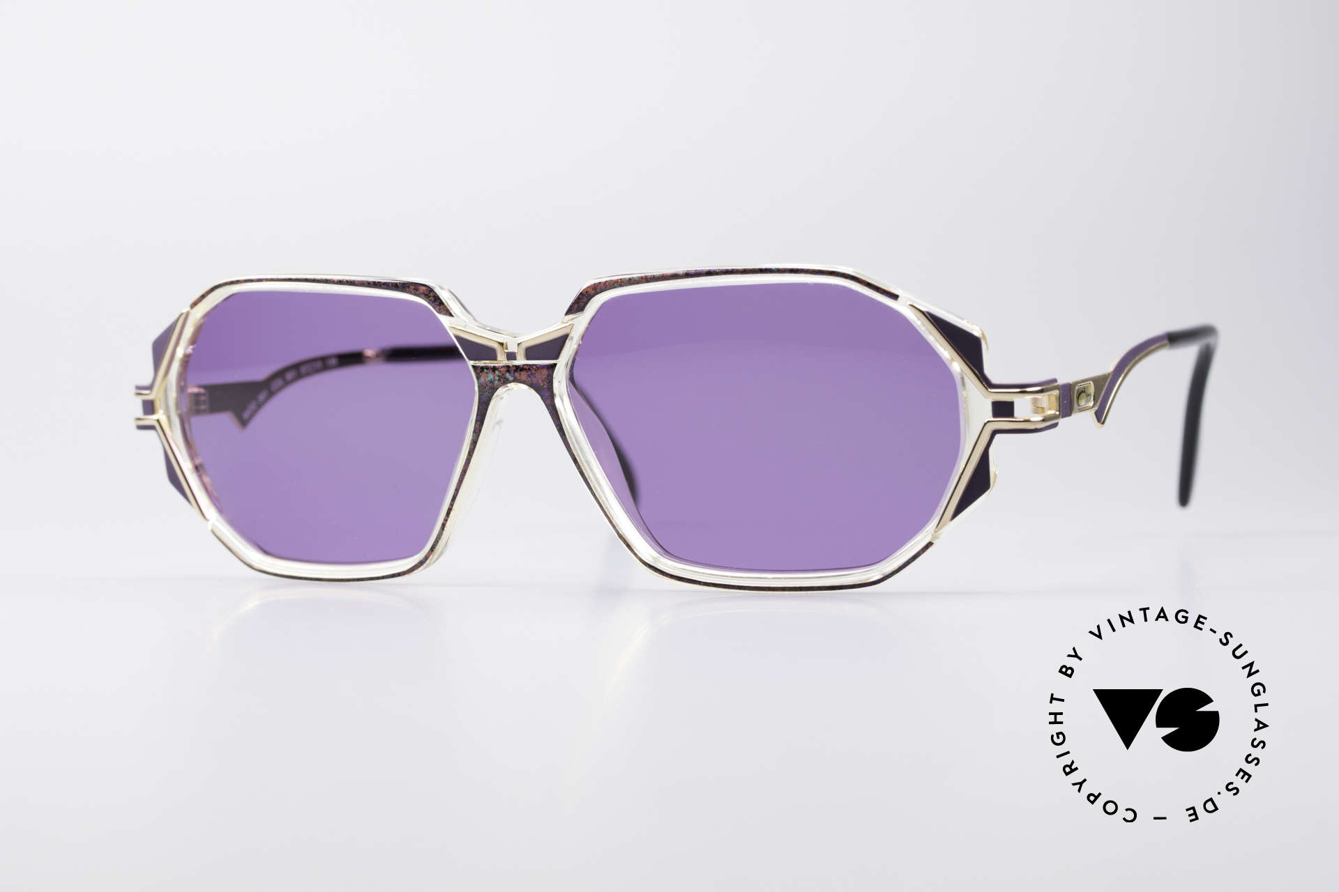 Cazal 361 Original 90er Sonnenbrille, schmuckvolles Cazal Design der frühen 90er Jahre, Passend für Damen