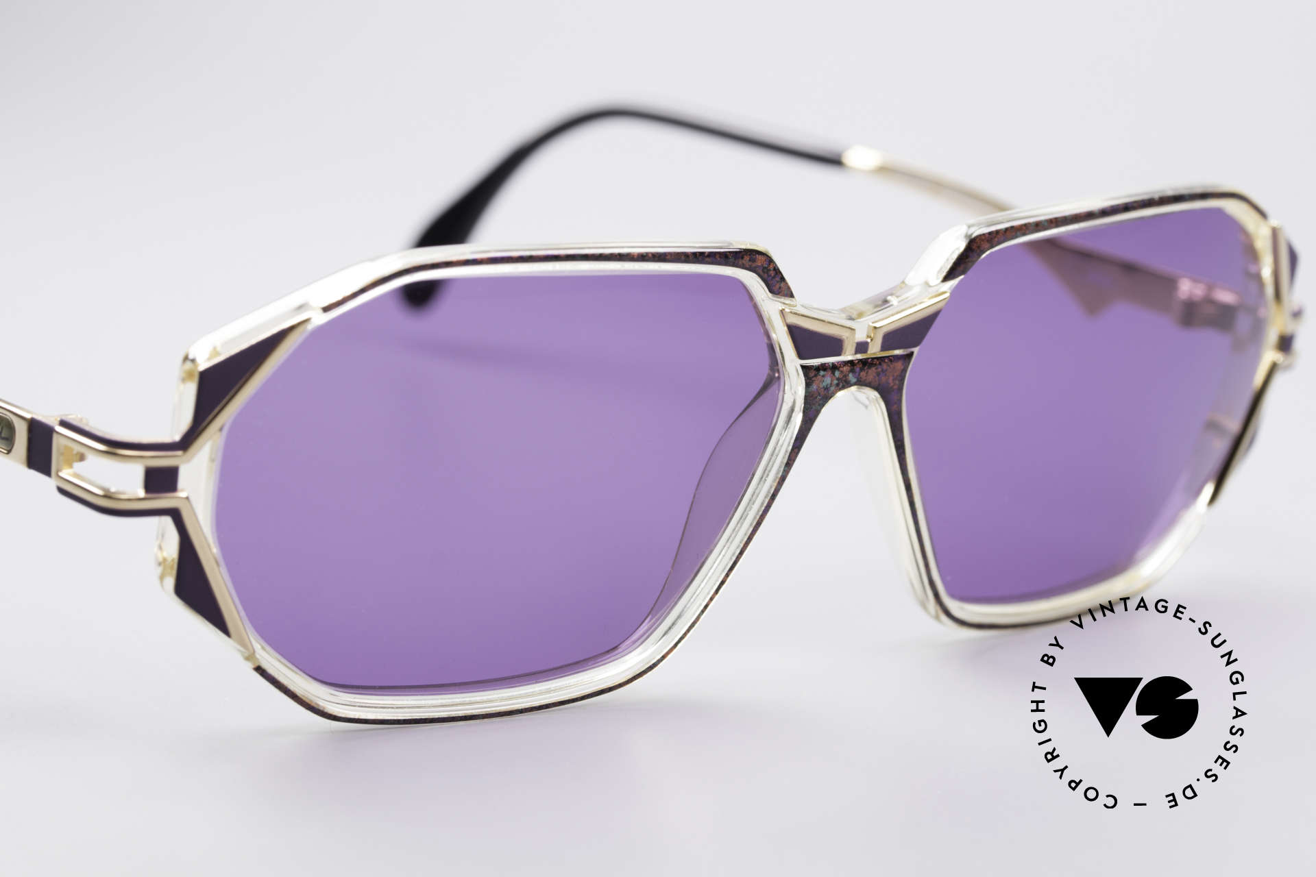 Cazal 361 Original 90er Sonnenbrille, ungetragen (wie alle unsere vintage Cazal Brillen), Passend für Damen