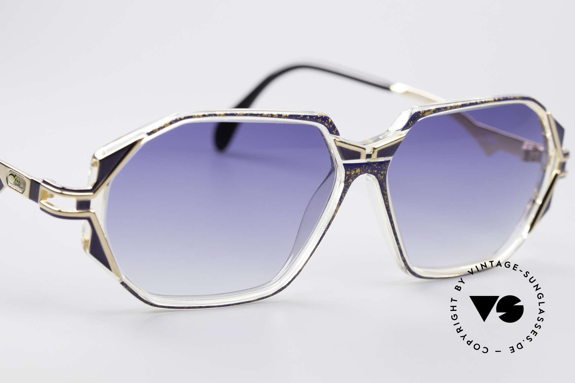 Cazal 361 Designersonnenbrille No Retro, ungetragen (wie alle unsere vintage CAZAL Brillen), Passend für Damen