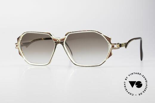 Cazal 361 Original Designer Sonnenbrille Details