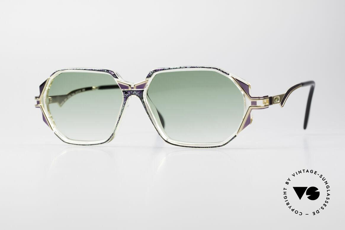 Cazal 361 Original Damen Designerbrille, schmuckvolles Cazal Design der frühen 90er Jahre, Passend für Damen